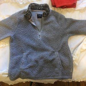 A&F Cozy Sherpa Pullover